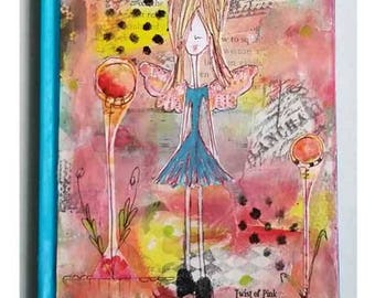Altered Journal-notebook~ Mixed Media art cover