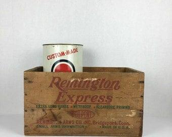 Remington Ammo Box Etsy