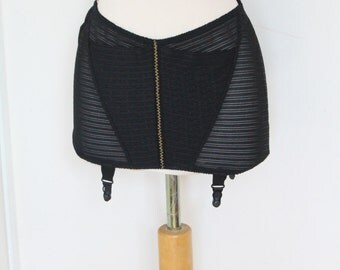 "60s Black Girdle, ""Black Ribbon"""