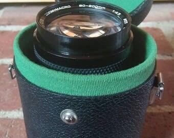 Soligor 80-200mm Zoom Macro Lens with Case