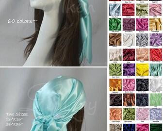 hair scarf, hair wrap, headband, head wrap, silk charmeuse, aqua, head covering, Hair benefits, hair care, natural hair care, boho, hs2