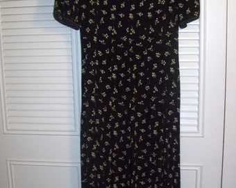 Dress 4, Vintage Talbot's Maxi Prairie Dress, Another Stunning Classic Preppy Dress Size 4