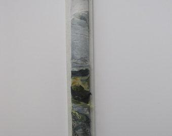 LANDSCAPE EMBROIDERY/ART -  Textile art, free motion embroidery, embroidered art, landscape.