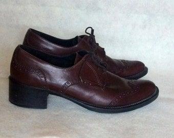 Italian made Lavorazione Artigiana Women's Oxford Shoes-39