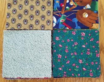 400, 5 inch, fabric squares, charm packs