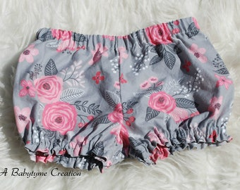 Baby Bloomers, Baby Girl Bloomers, Diaper Cover, Newborn Girl Bloomers, Baby Girl Clothes, Baby Girl Clothing, Kids Clothing, CHOOSE COLOR