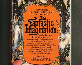 The Fantastic Imagination: An Anthology Of High Fantasy. Avon 1977 Paperback Very Good condition, RARE Collectible.