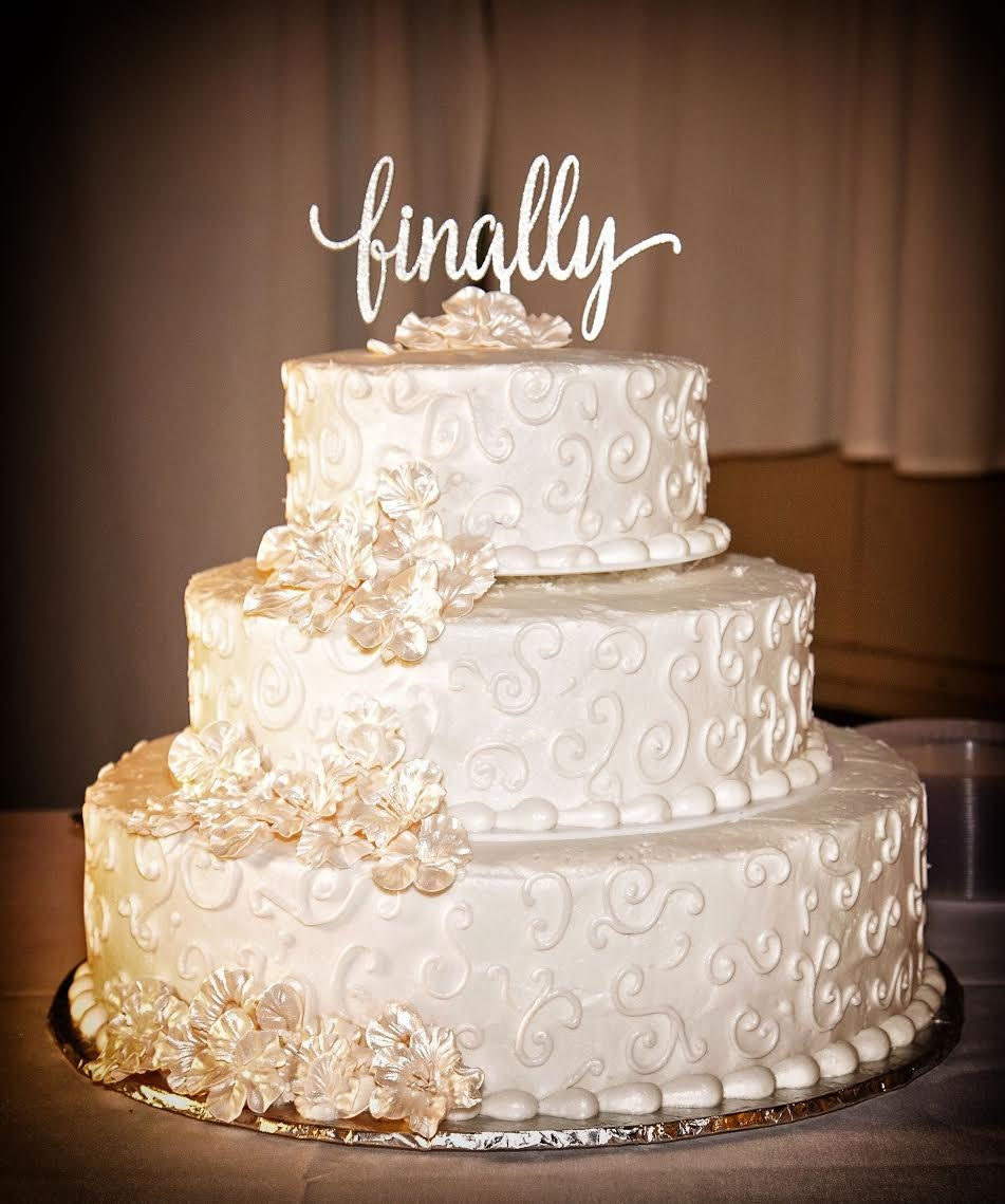 black and gold wedding cake toppers finally cake topper wedding cake topper wedding 11816