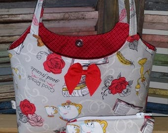 Beauty and the Beast Little Girls Purse
