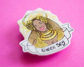Queen Bey pin