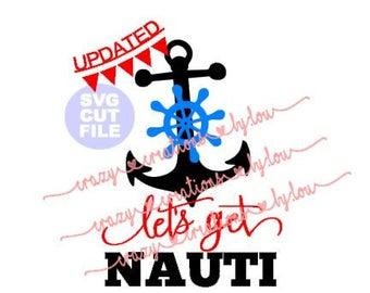 Let's get NAUTI Anchor digital cut file for htv-vinyl-decal-diy-plotter-vinyl cutter-craft cutter-svg-dxf a7 & jpeg format