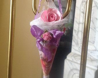 Spring Roses Tussie Mussie
