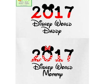Disney family shirts, Disney World shirts, Disneyland shirts, personalized shirts