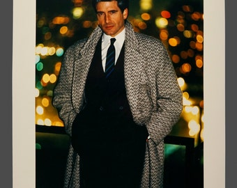 Genuine 1980s Color Photo Fashion Photograph Photography Studio Portfolio Grignon Studios 14 x 17