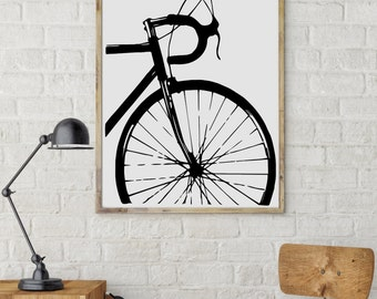 """Shop """"bicycle art"""" in Drawing & Illustration"""