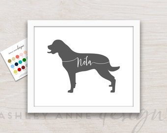 Labrador Retriever, Labrador Art, Labrador Retriever Art, Labrador Gifts, Labrador Retriever Gifts, Labrador Wall Art, Personalized, Print