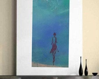 Large Modern art abstract painting original painting canvas art acrylic artwork living room art canvas art large abstract blue art painting