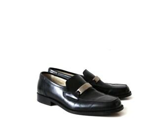 Mac Dugan Black Leather Shoes Oxford Shoes EUR 41.5 / UK 7.5 / US 8