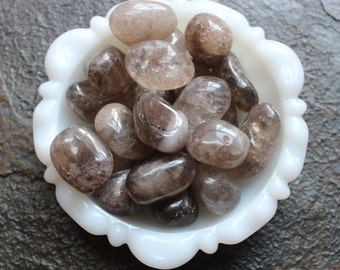Smokey Quartz - Tumbled Stone- Large