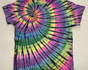 Rainbow Indigo Spiral