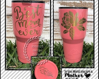 30 oz Ozark Powder Coated Stainless Steel Tumbler