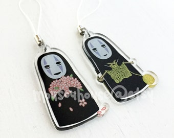 SUMMER SALE Ghibli Spirited Away No Face Charms
