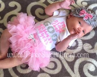 Baby Girl Clothes Adoption Day Shirt | I'm Proof That God Answers Prayers | I Am Gods Answered Prayer | Gods Gift Bodysuit | Pink Silver