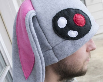 Bunny Fleece Hat Etsy