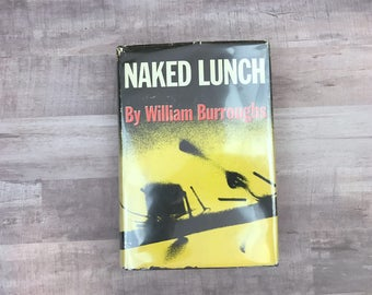 Naked Lunch - By William Burroughs - Grove Press - Rare Book - 1959 - 8th Printing - Scarce Book - Vintage Book