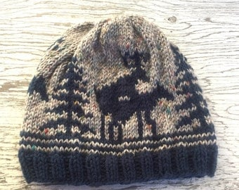 VALENTINES GIFT for Him, Custom Valentines Gift for Boyfriend Husband, Hunting Season Knit Deer Hat, Pick your colors!