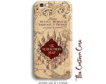 Marauder's Map IPhone Case, Harry Potter Iphone Case, Iphone 4/5/5c/6/6+6s, Samsung Galaxy S3/S4/S5/S6/S6/6edge/6edge+, Galaxy Note3/4/5