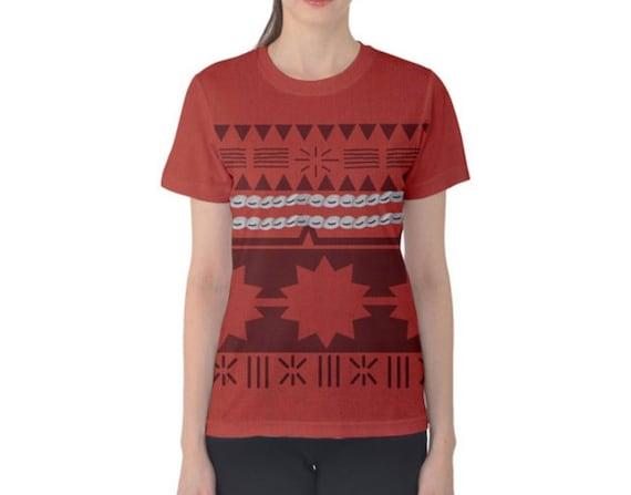 Disney Moana Tropical Tee Shirt