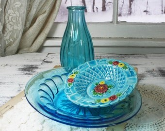 SALE - Turquoise  3 Piece Set