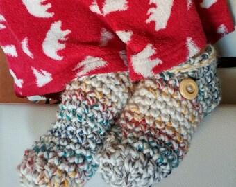 Women's or men's wool Slippers /Slippers /The Kozye Slippers