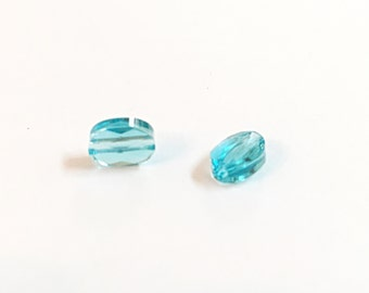 Swarovski Crystal Beads, Swarovski Elements For Jewelry Making, Swarovski Jewelry Making Supply, Crystal Charms, 6mmx8mm Swarovski x2pcs