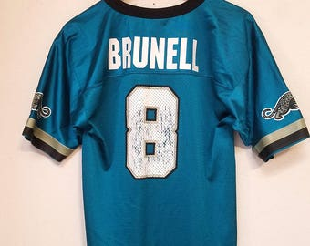 Vintage Jacksonville Jaguars Mark Brunell Youth Throwback Jersey   Throwback Paradise