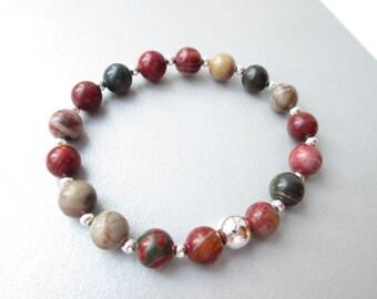 Pregnancy bracelet, fertility bracelet, weight loss, healing crystals, healing stones, stress relief, aura crystal, stress bracelet, gift