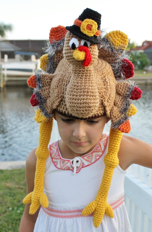 Thanksgiving turkey crochet hat pattern pdf crochet pattern this is a digital file bankloansurffo Gallery