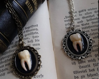 Human Tooth Necklace