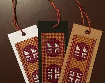 Journey Scarf Cross Stitch Bookmarks