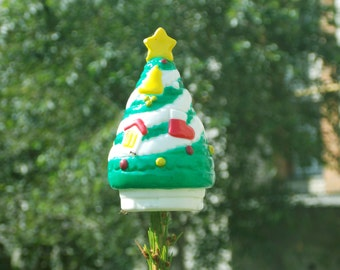 Vintage top Xmas top Christmas tree topper Christmas topper Christmas tree tip Plastic christmas decoration christmas tree decor Tree Top