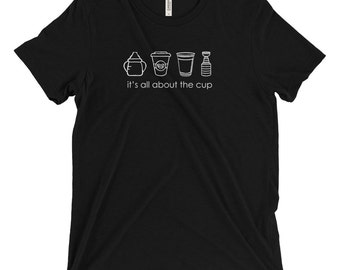 It's All About The Cup, Stanley Cup, Hockey Playoffs, Red Solo Cup, NHL, Nashville Predators, Ice Hockey, Pittsburgh Penguins, T-shirt