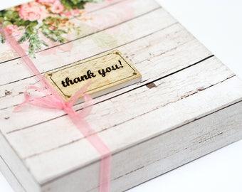 thank you tags, rustic wedding, wedding favors, gift tags, favor tags, mini thank you tags, bridal shower tags, wedding signs