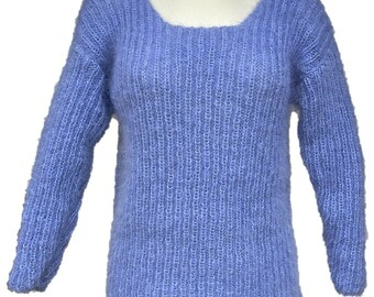 Pullover mohair