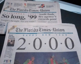 Party Like It's 1999!     Complete Newspapers Dec. 31, 1999 and Jan. 1, 2000
