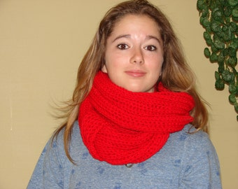 Scarf infinity, Infinity scarf, Snood, scarf, gift, winter ready for shipment