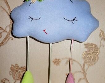 Облачко-сплюшка с бантиком/ Sleepy Cloud with a ribbon      -    It is sold!