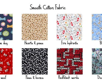 Fabric lining options-- do not purchase