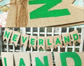 Neverland  Banner- Peter pan