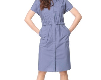 Summer dress, Сasual dresses, Red dress, Beautiful dress, Dress short sleeve, Сotton dress, Stylish dress